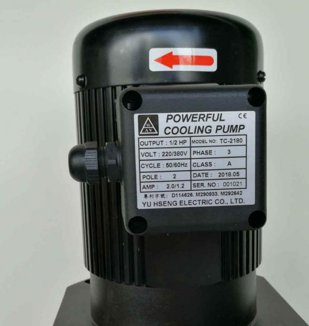 TC-2180 1/2HP Coolant pump, 180mm (7