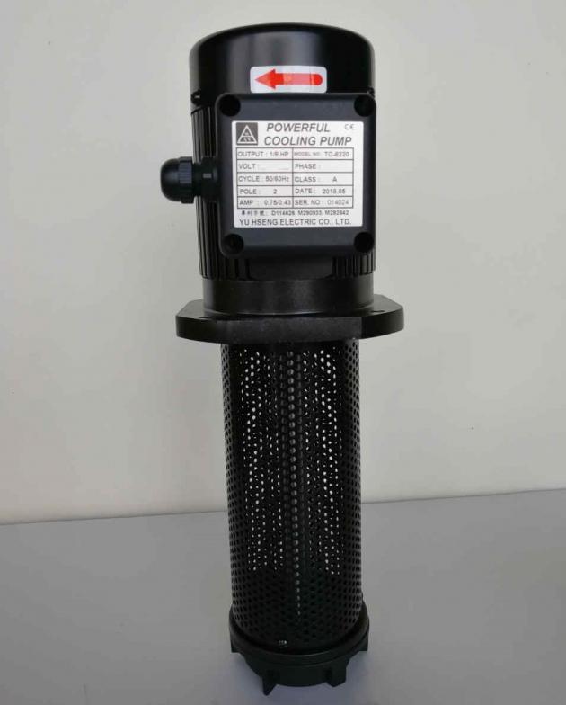 TC-8220 1/8HP Coolant pump, 220mm (8.7