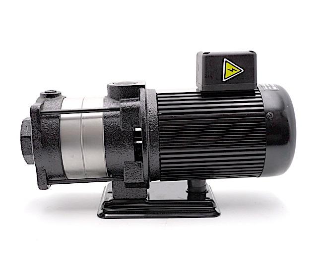 Multi-stages Horizontal Machine Coolant Pump 140mm stem 4T(4m3/h) Coolant Pump 2 impellers 1