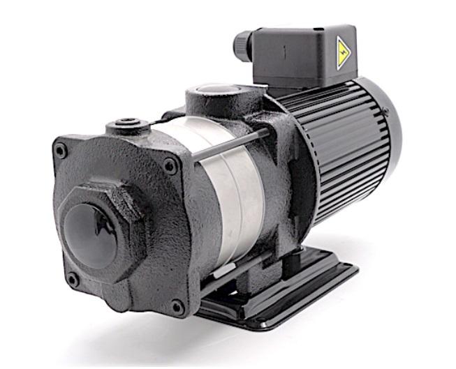 Multi-stages Horizontal Machine Coolant Pump 140mm stem 4T(4m3/h) Coolant Pump 2 impellers 2