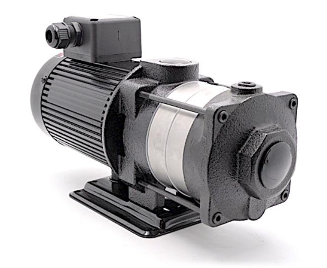 Multi-stages Horizontal Machine Coolant Pump 140mm stem 4T(4m3/h) Coolant Pump 2 impellers 3